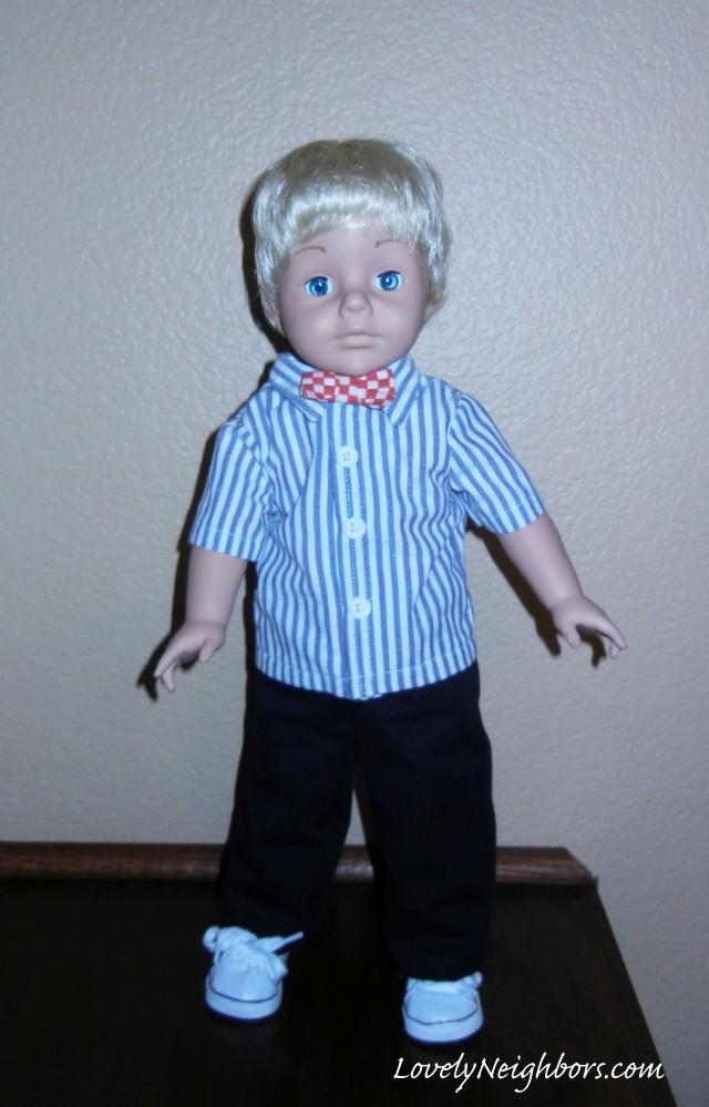 Meet Matthew - Boys Can Like Dolls Too!